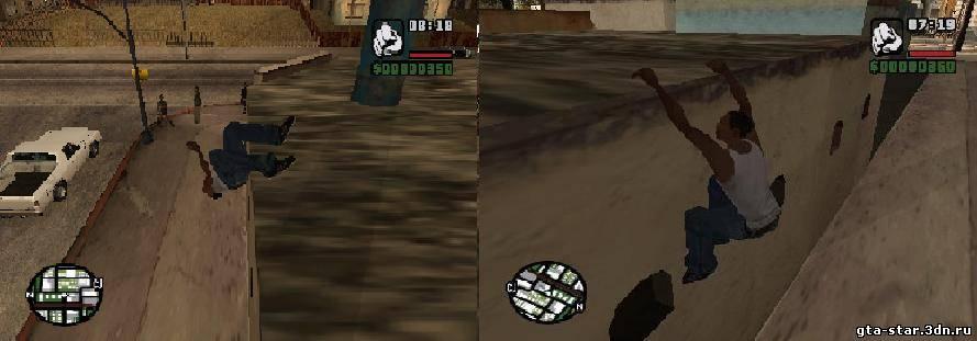 Теперь в игре появяться паркур